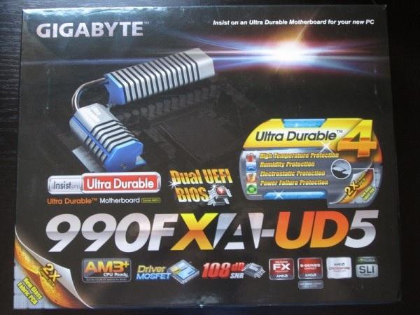 Gigabyte 990FX-UD5