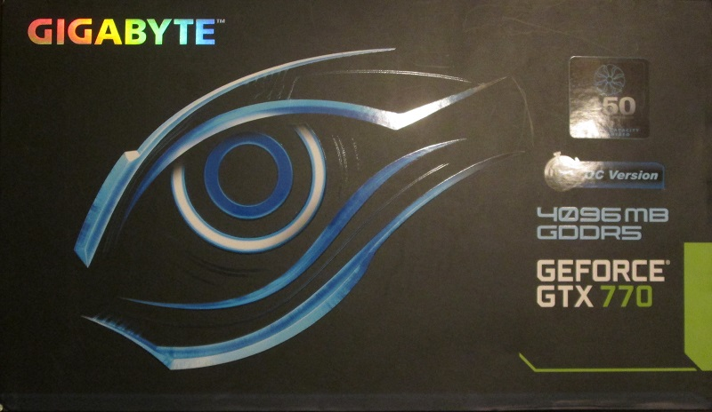 Gigabyte 770gtx 4GB OC BOx
