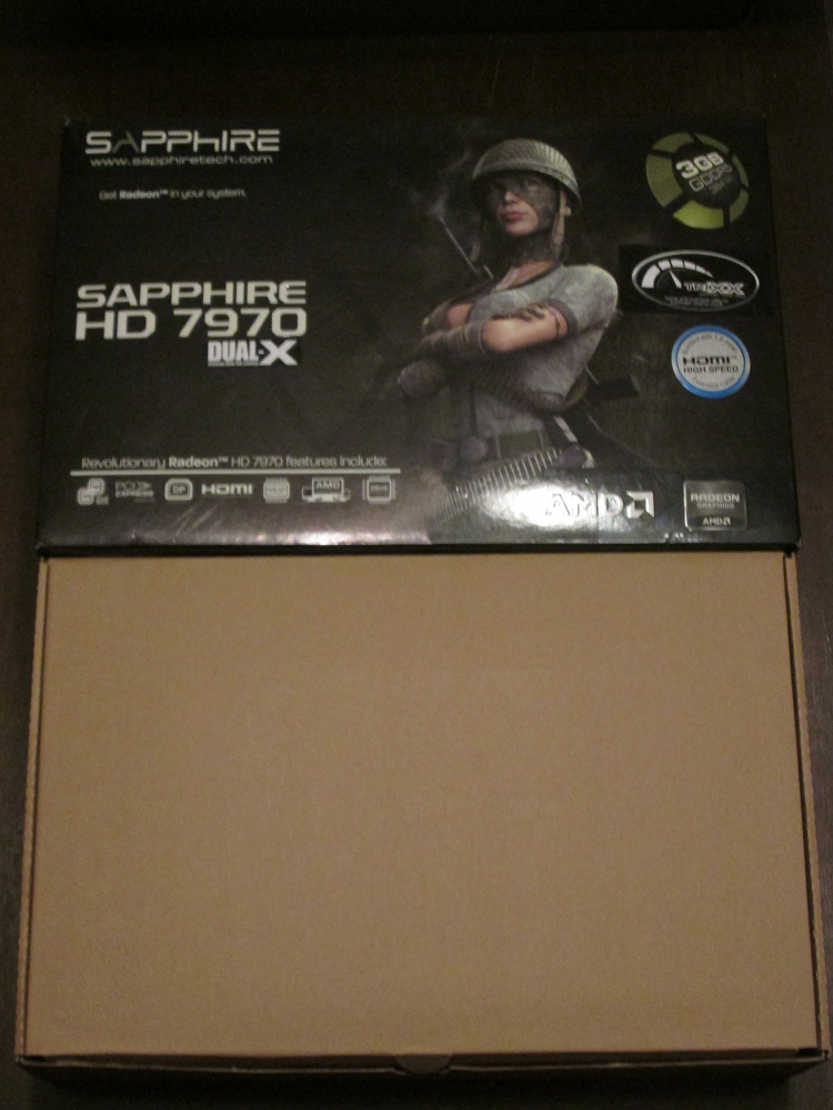 Sapphire 7970 unboxing