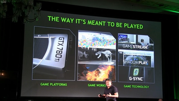 nvidia 700 series features Nvidia Announces GTX780Ti 12GB GDDR5   4K and 4K Surround Gaming