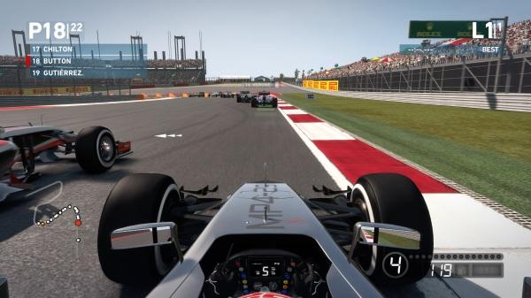 F1 2014 Benchmark In Game Screenshot