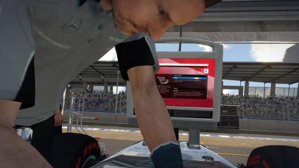 F1 2014 Pit Screenshot
