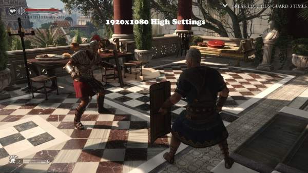 Ryse Son of Rome 1920x1080 High Settings
