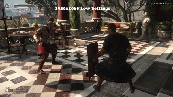 Ryse Son of Rome 1920x1080 Low Settings