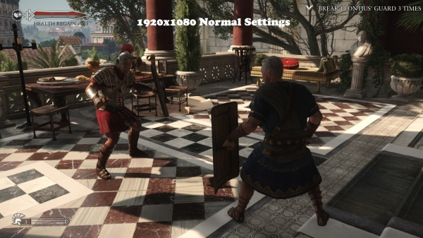 Ryse Son of Rome 1920x1080 Normal Settings