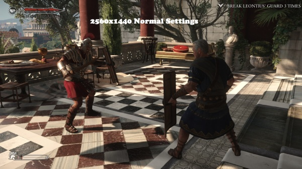 Ryse Son of Rome 2560x1440 Normal Settings