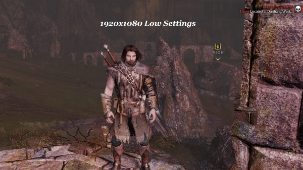 Shadow Of Mordor 1920x1080 Low Settings