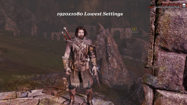 Shadow Of Mordor 1920x1080 Lowest Settings