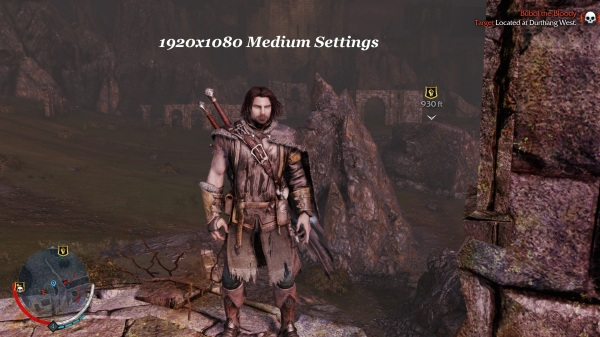 Shadow Of Mordor 1920x1080 Medium Settings