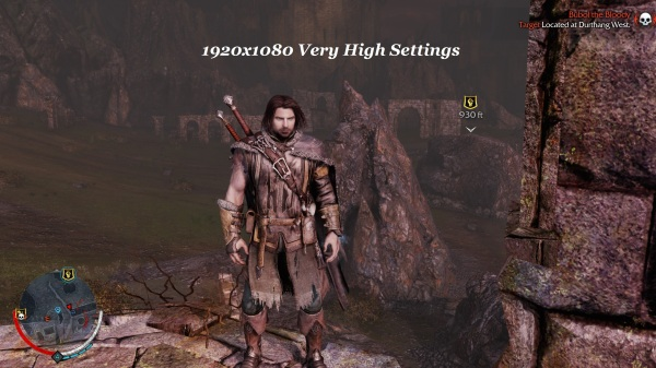 Shadow Of Mordor 1920x1080 Very High Settings