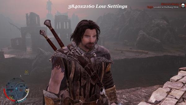 Shadow Of Mordor 3840x2160 Low Settings