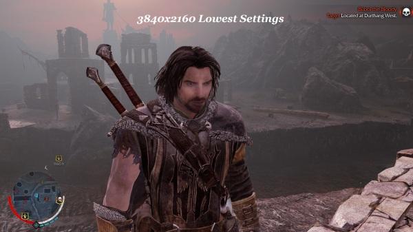 Shadow Of Mordor 3840x2160 Lowest Settings