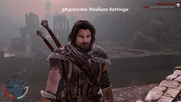 Shadow Of Mordor 3840x2160 Medium Settings