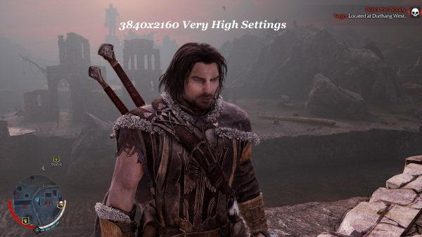 Shadow Of Mordor 3840x2160 Very High Settings