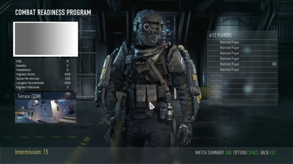 Call Of Duty Advanced Warfare Match Making Lobby