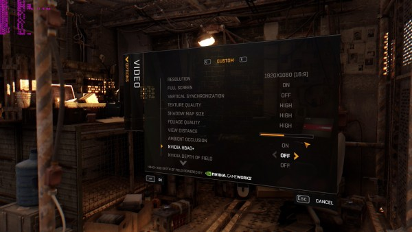 Dying Light Graphics Settings