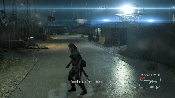 Metal Gear Solid V Ground Zeroes 2560x1440 Screenshot