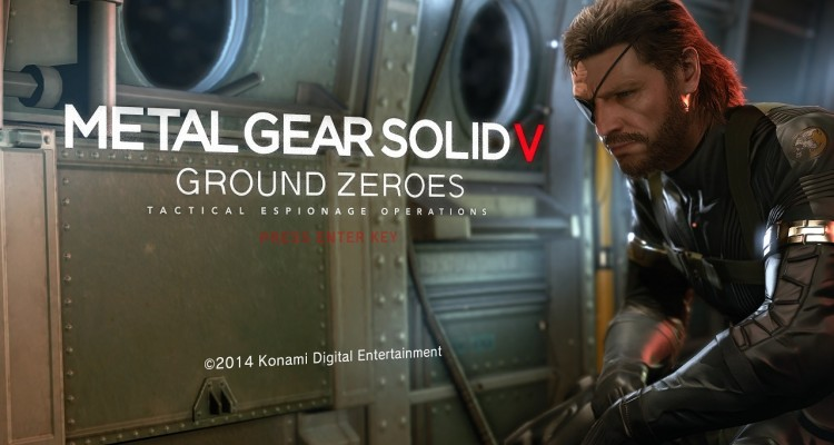Metal Gear Solid V Ground Zeroes PC Benchmark Performance